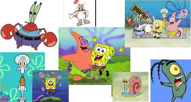 File:Spongbob and all of his friends.jpg