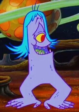 Male alien