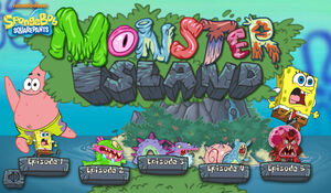 Monster Island new title screen