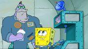 Spongebob milkshake
