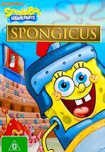 SpongeBob original Spongicus Australian DVD