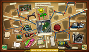 The Squarepants Mysteries Detective board