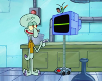 SpongeBob SquarePants Karen the Computer S5-8-Mobile
