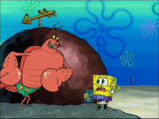 Larry in Mermaid Man and Barnacle Boy IV-1