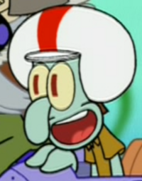 Biker Squidward