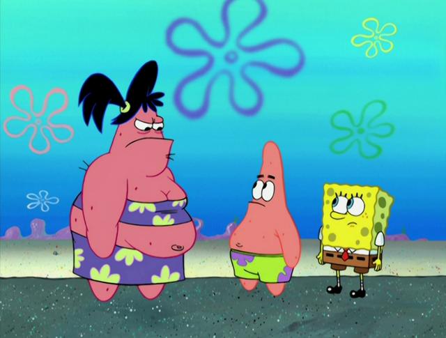 File:Sam,patrick and spongebob.png