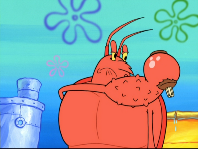File:Larry the Lobster in The Abrasive Side-1.png