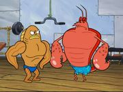 Larry the Lobster in The Krabby Kronicle-20