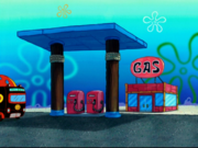 Gas in Atlantis SquarePantis