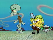 Pizza Delivery (SpongeBob and Squidward)