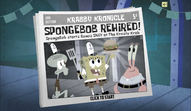 File:SpongeBob, You're Fired! (online game) - SpongeBob rehired!.png