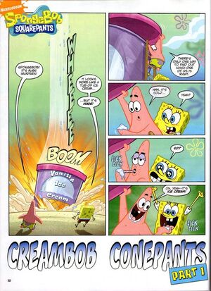 CreamBob ConePants