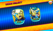 Bikini Bottom Brawlers old mode select