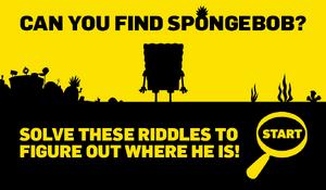 Can you find SpongeBob?