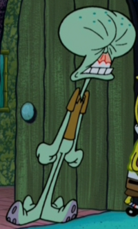 Squidward Punched in the Face