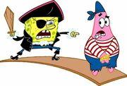 SpongeBob & Patrick Pirates 3