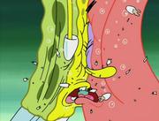 SpongeBob and Patrick Kissing