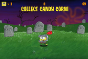 Ghost Slayer Collect candy corn