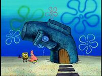Squidwards house alive