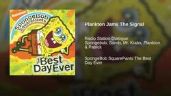 Plankton Jams The Signal