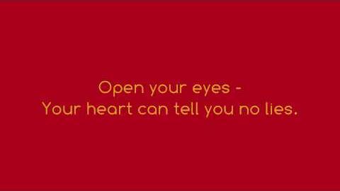 True To Your Heart - 98 Degrees & Stevie Wonder (FULL LYRICS)(HD)