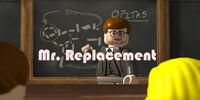 Mr. Replacement (Bob SquarePants)