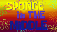 Sponge in The Middle
