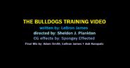 THE BULLDOGS TRAINING VIDEO