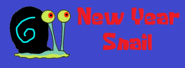 New Year Snail