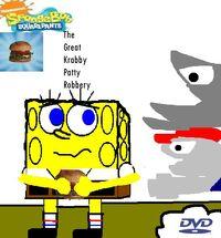The Great Krabby Patty Robbery DVD