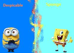 Despicable sponge