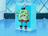 SpongeBob Frozen