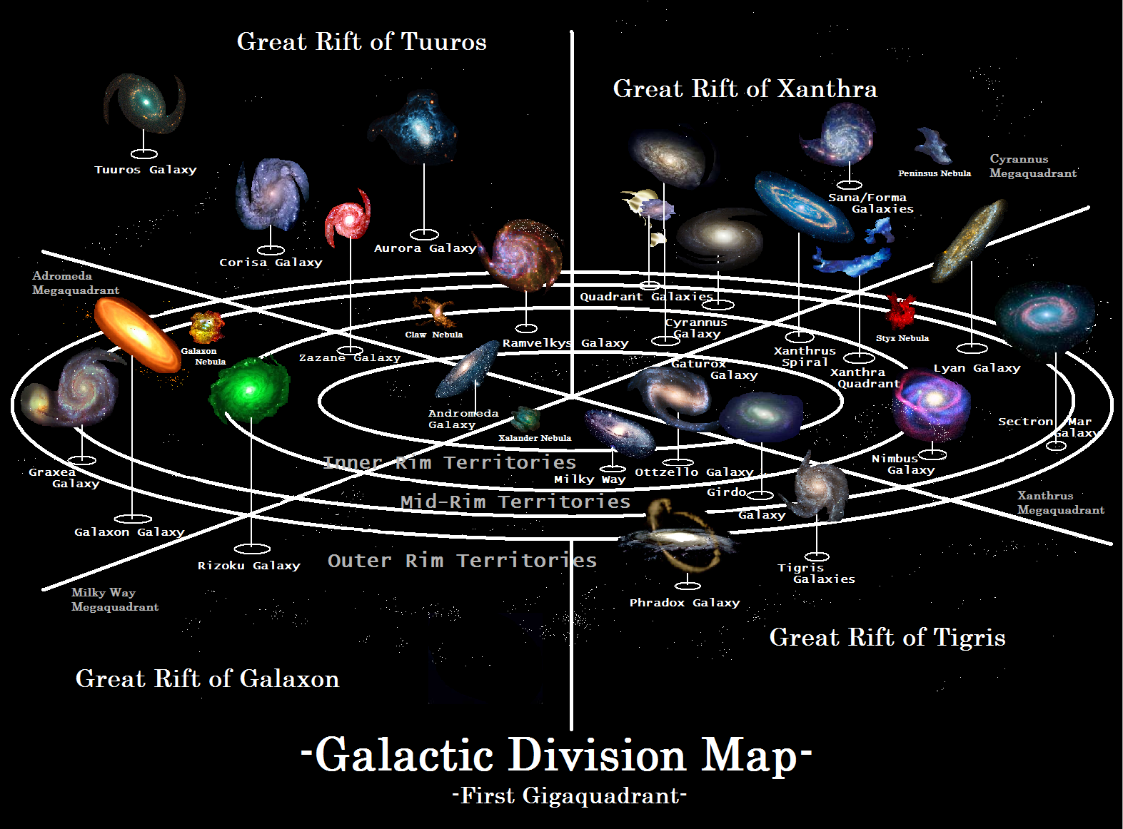 Universe Map  My blog