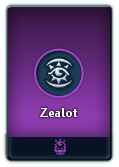 Zealot card