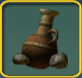 Super old clay pot icon