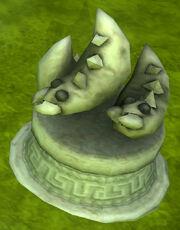 Statue of the three cricket