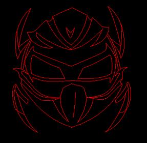 Drogoth god form head (work in progress)