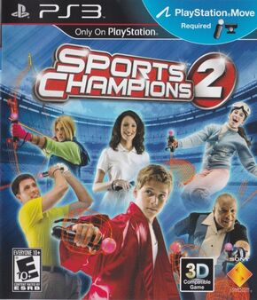Sports Champions 2 game cover