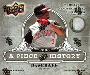 2008 UD Piece of History Hobby Box