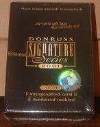 2001 Donruss Signature Tin