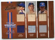 2005 Absolute Team Trios Swatch Double