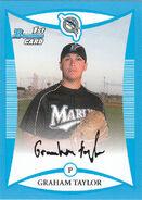 2008 Bowman Baseball Prospect Blue