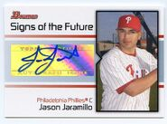 2008 Bowman Baseball SOTF JJ