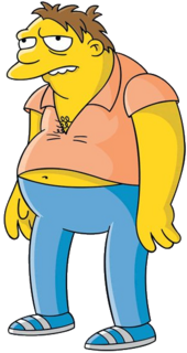 Barney Gumble (Official Image)