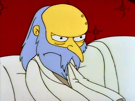 File:Mr. Burns (Aged).PNG