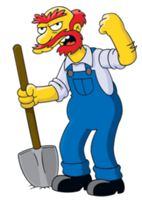 Groundskeeper Willie (Official Image)