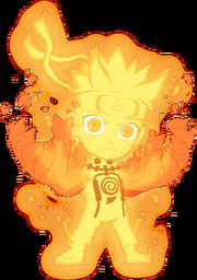 Naruto Nine-Tails Chakra Mode