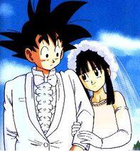 Goku & Chi Chi