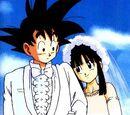 Goku and ChiChi Wedding