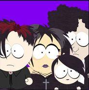 Goth kids friend icon